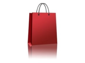 Consumer Shoppimg Red Bag